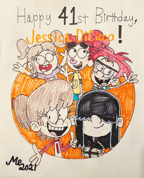Jessica DiCicco B-Day Gift