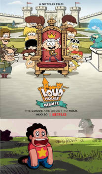 Steven Excited Over The Loud House Movie