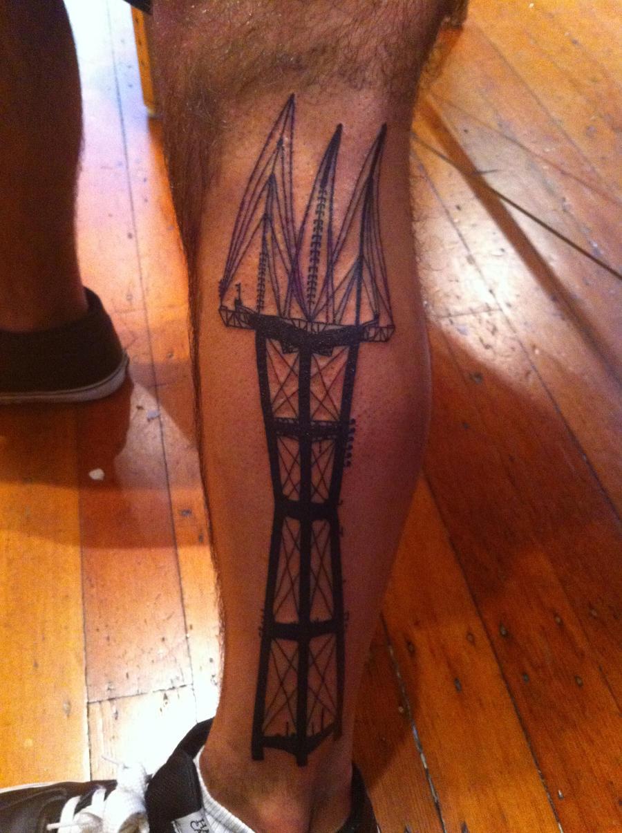Sutro Tower Tattoo