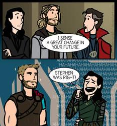 Destiny's dire plans for Thor by DKettchen