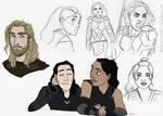 Disney Ragnarok sketchdump