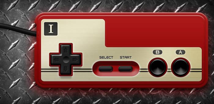 Nintendo Famicom Controller