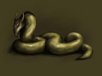 Dragon by MrLuksy