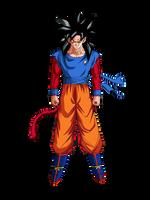 Goku ssj4 by irvinepiw