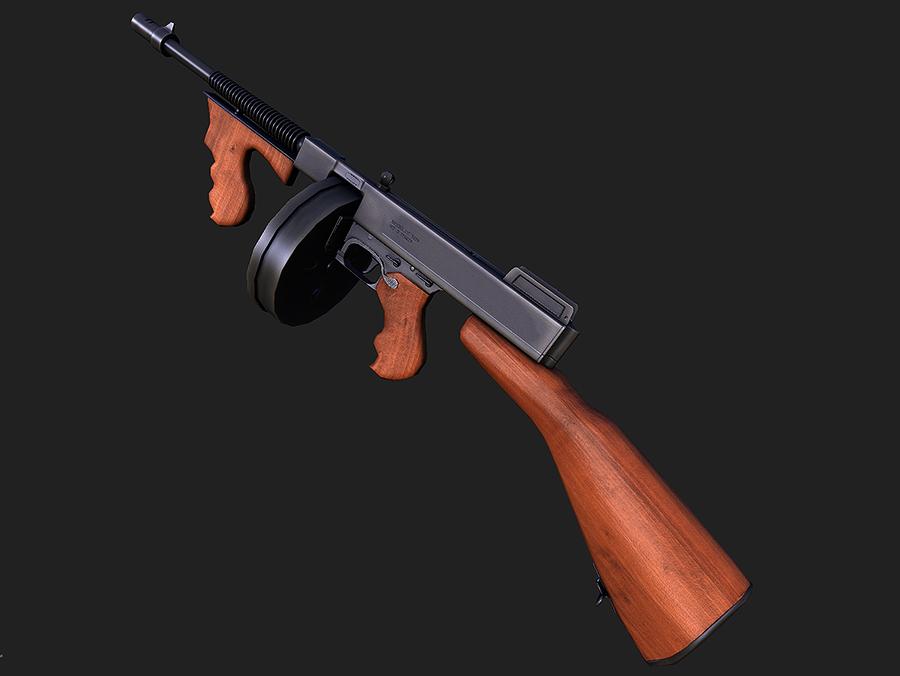 Tommy Gun by dn-revenge