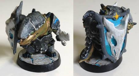 Dragonborn Paladin by scanomon