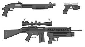 RCSG500-A1/B1 Riot Control Shotgun