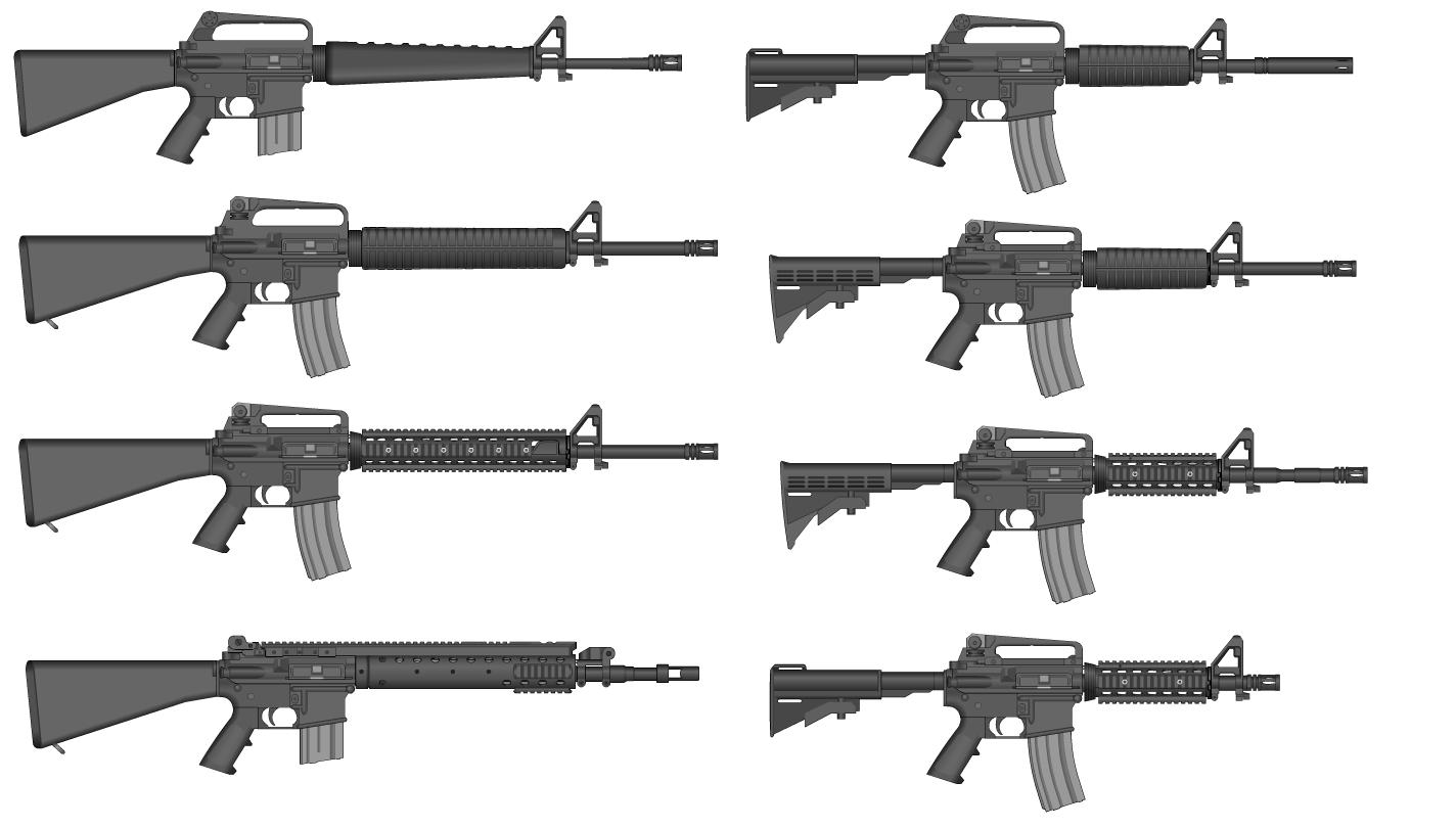 M16 Evolution by GrimReaper64 on DeviantArt M14 Wallpaper
