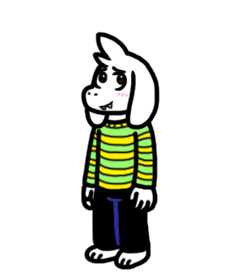 Asriel, the Small Boy by CitrusChao