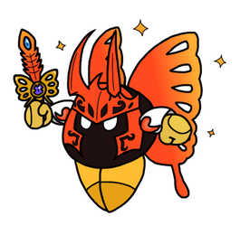 Reborn Butterfly: Morpho Knight by CitrusChao