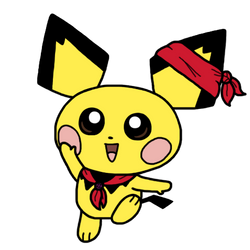 Pichu's back in Smash, baby! by CitrusChao
