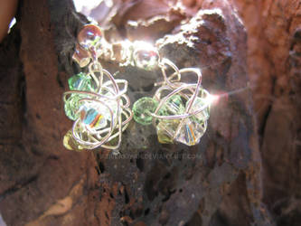 Sparkling Spring Earrings
