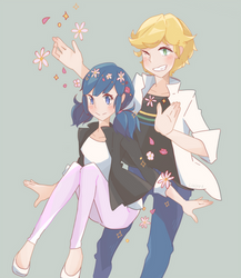 miraculous cuties by linppa
