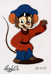 First Fievel Coloring - 2007 by Maxl654