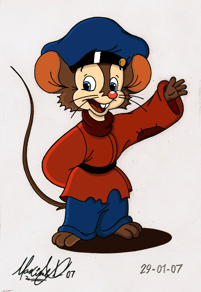 an american tail coloring pages - photo#41