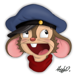 Fievel AWESOME Face :D by Maxl654