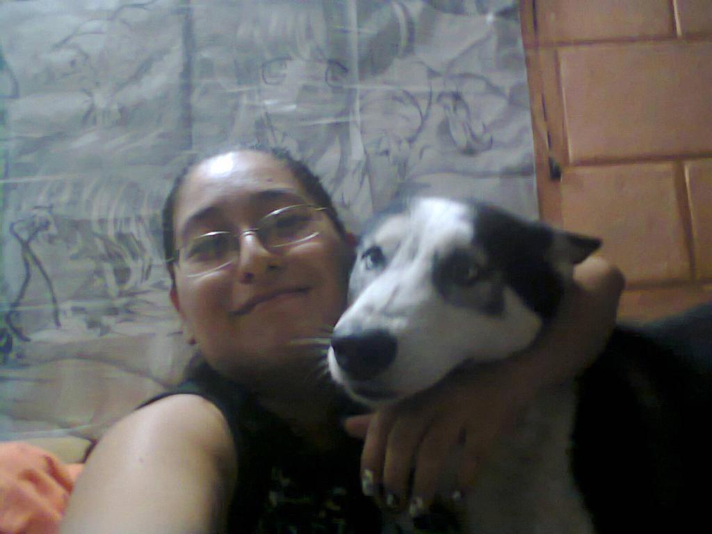 mi bebote Sylver y yo :P by lakyvaquero