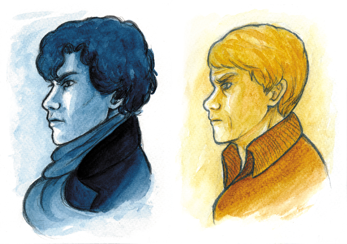 Sherlock and John by NAM-KE