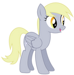 Happy Derpy Vector