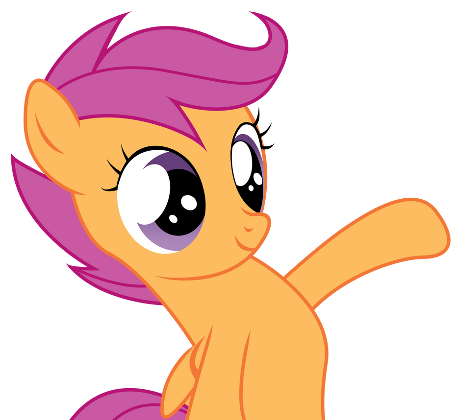 Scootaloo Vector   Thi...