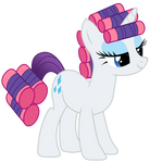 Rarity in Curlers Vector
