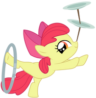 Applebloom : Hey look by Kooner-cz