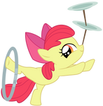Applebloom : Hey look