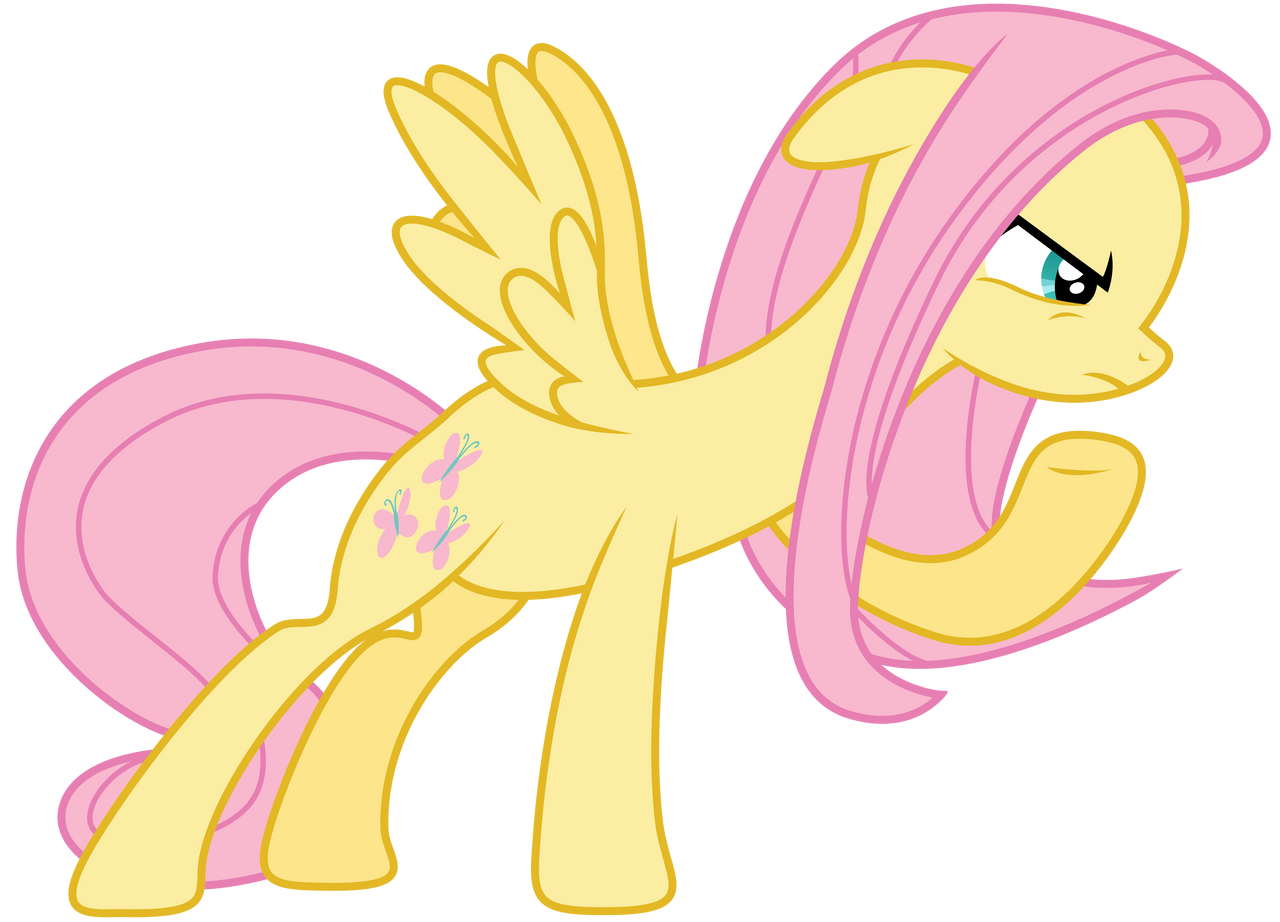 Fluttershy : Angry by Kooner-cz