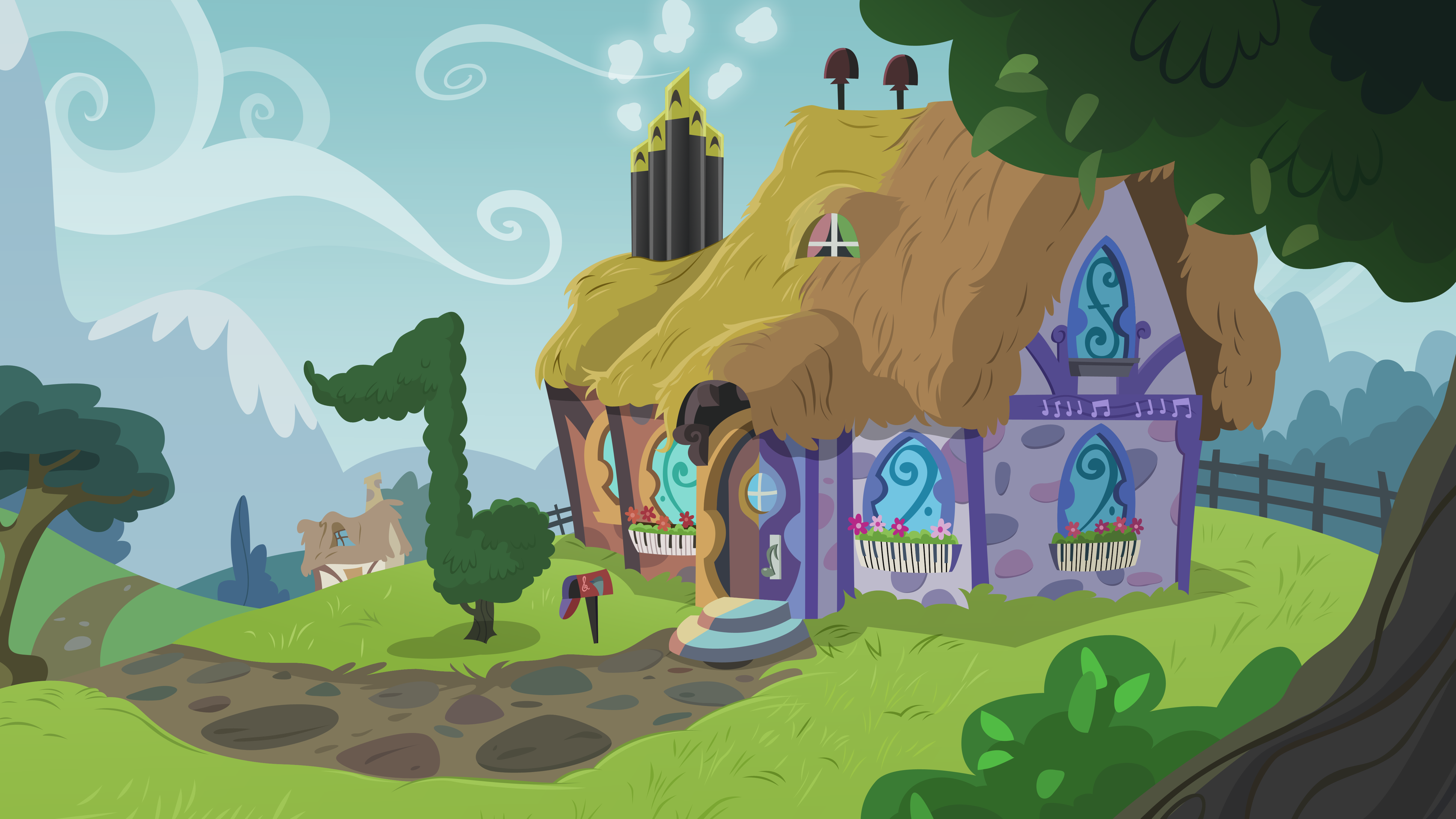 Mlp Backgrounds Favourites By Gypsycharm On Deviantart
