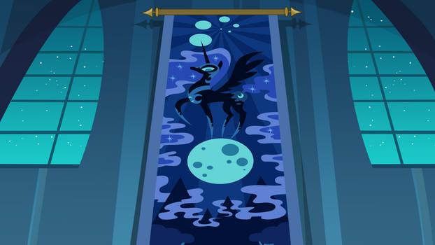 Nightmare Moon hallway