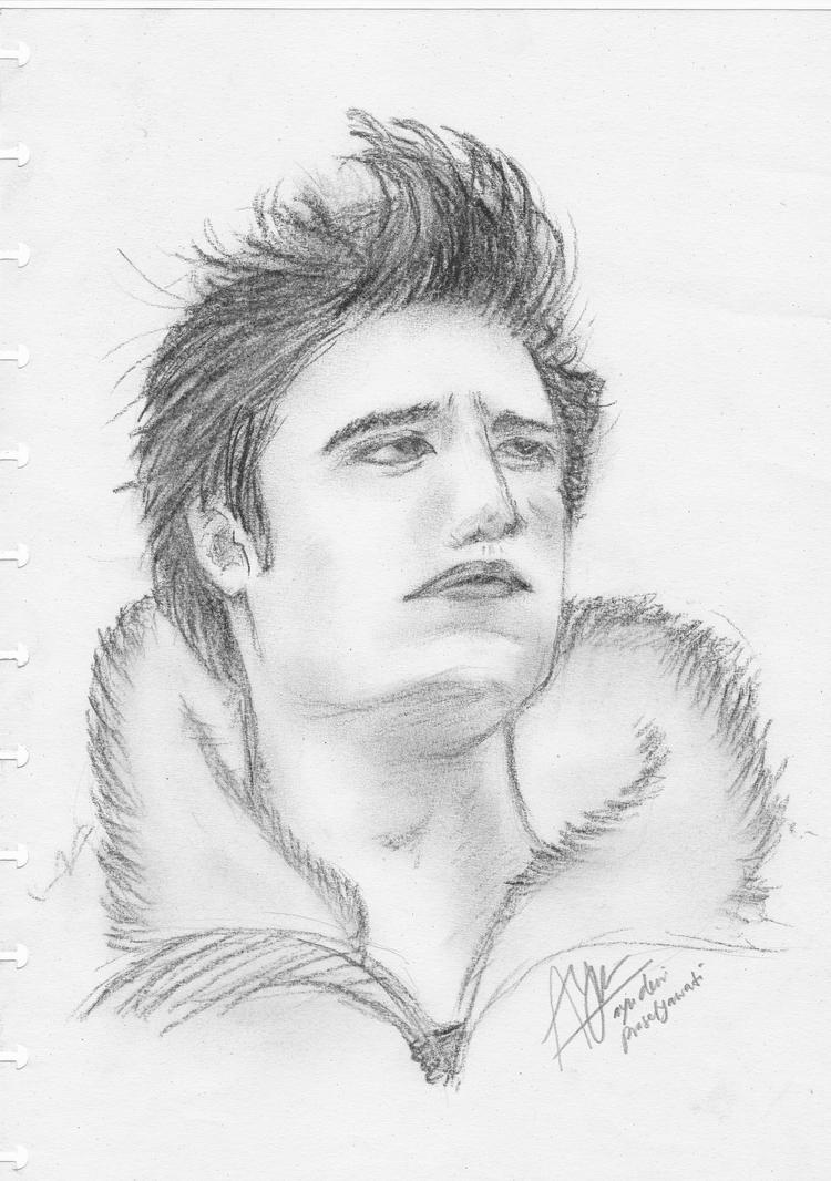 Edward Cullen On Sketch By Ayudewi On Deviantart