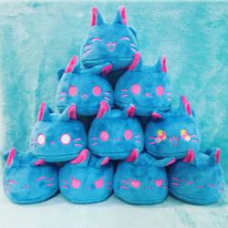 Blue Raspurry Pudding