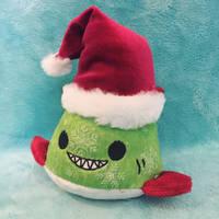 Sharky Claus Pudding