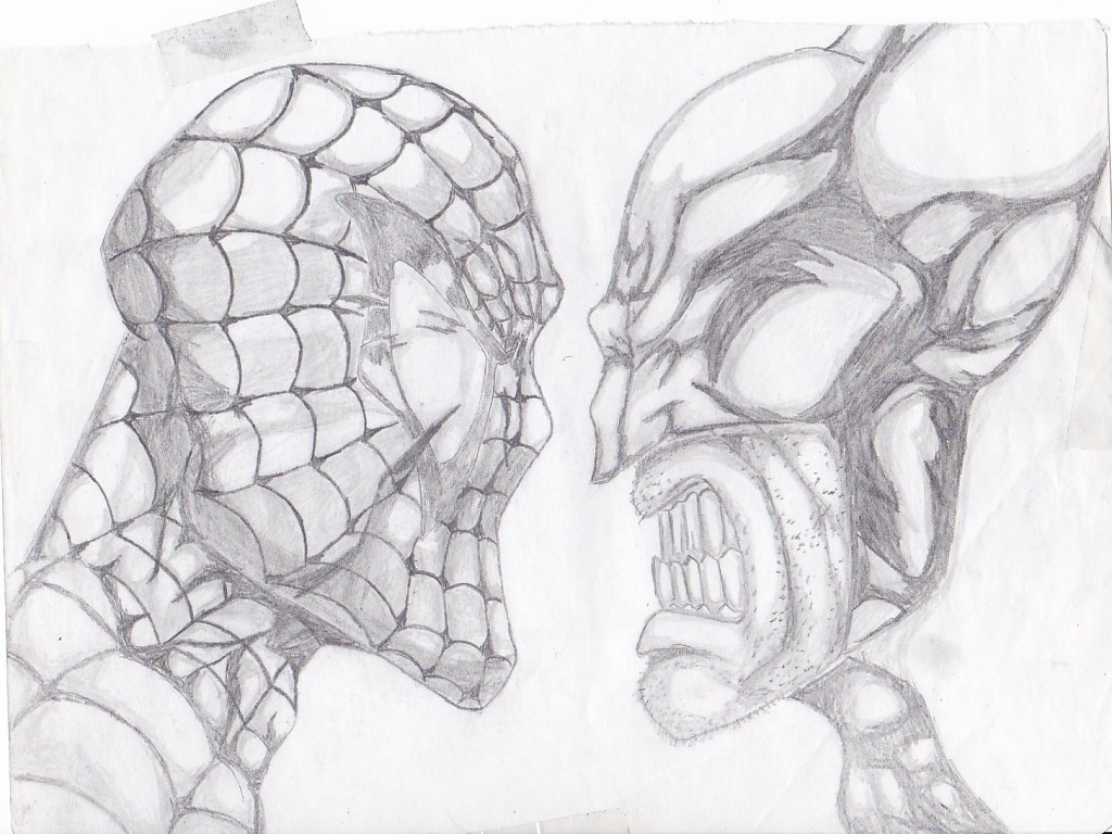 Spiderman Vs Wolverine A Lapiz By Martinjosegomez On Deviantart