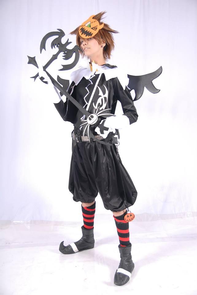 Sora Halloween town cosplay by PekoPonPon on DeviantArt