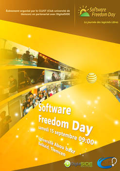 Software freedom day flyer