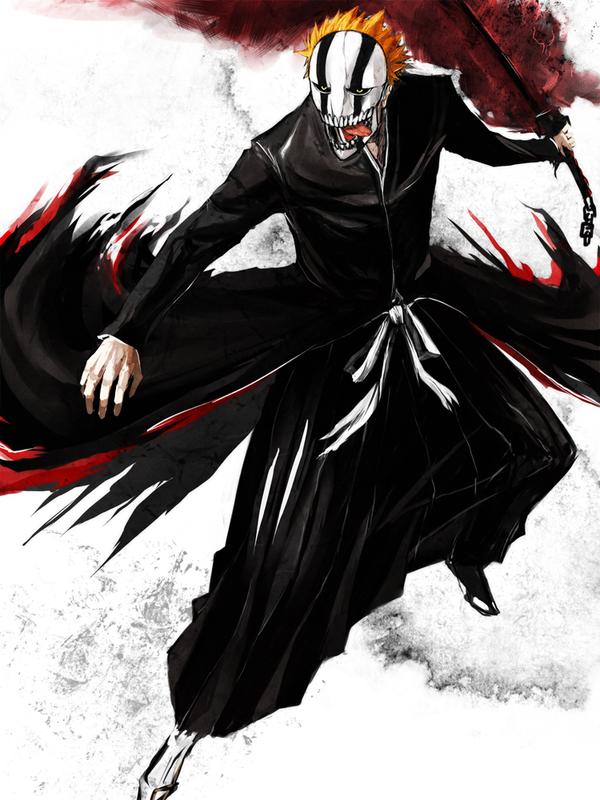 Vizard ichigo by wu zhi on deviantart - Ichigo vizard mask ...