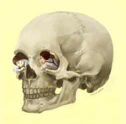 Skull kids by Wu-zhi