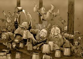 Who let the Dwarves in?