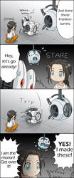 Portal2 CHAMBER Chapter 5 'Deep Stare' by uotapo
