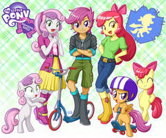 Equestria Girls CMC by uotapo