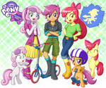Equestria Girls CMC
