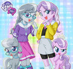 Equestria Girls Silver Spoon and Diamond Tiara