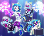 Equestria Girls Vinyl Scratch and Photo Finish