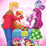 Equestria Girls Big Macintosh and Cheerilee