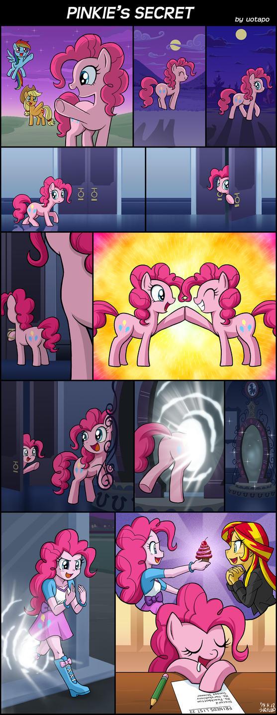 Pinkie's Secret by uotapo