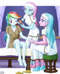 Dashie's First Spa