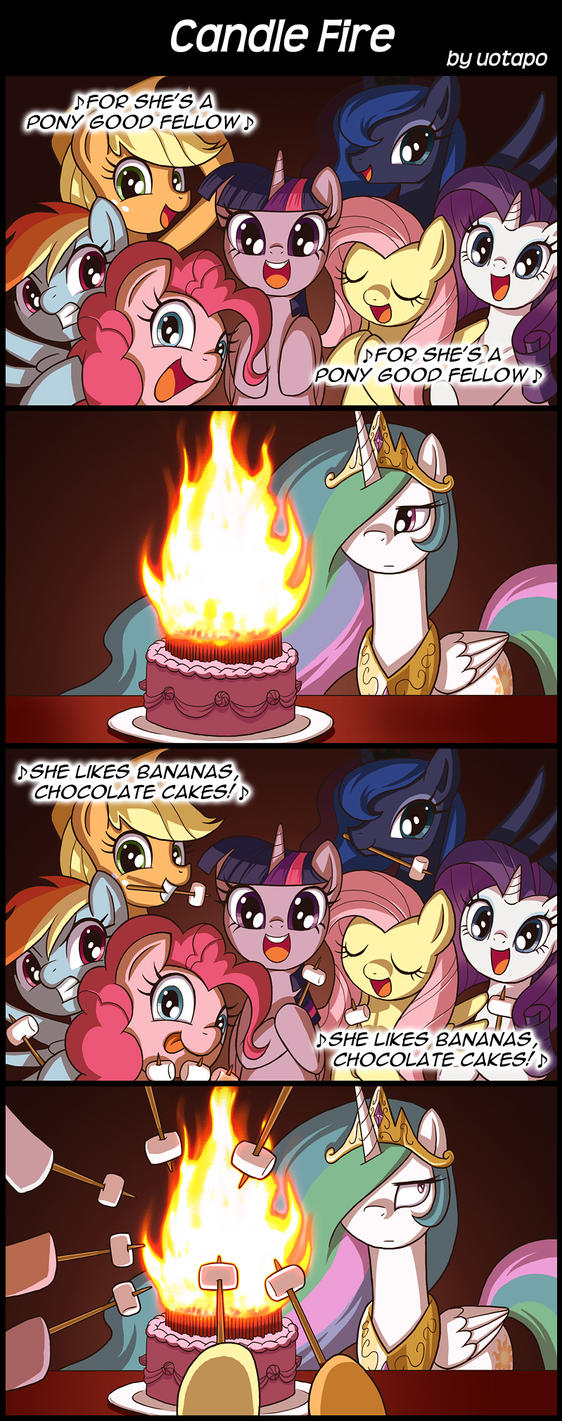 Candle Fire by uotapo