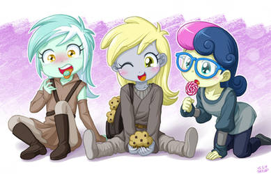I like muffin more than candy!