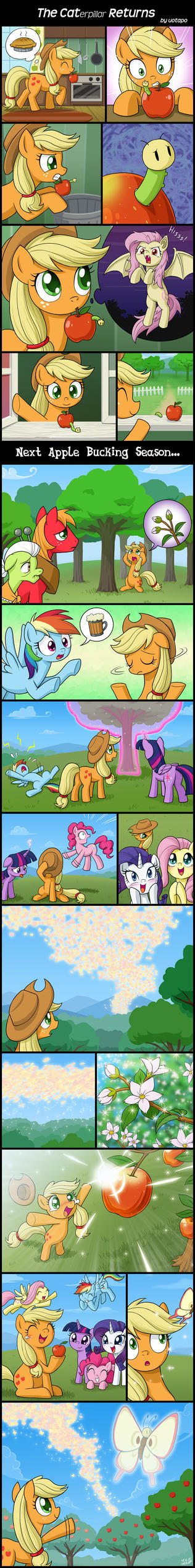 The Caterpillar Returns by uotapo